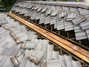 roof gully replacement