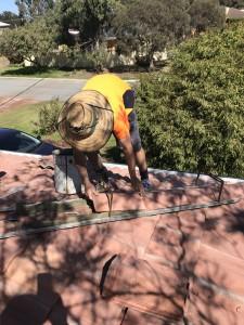 fixing ridge capping