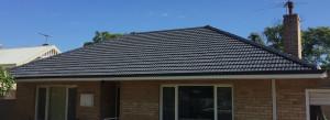 black roof restoration Perth