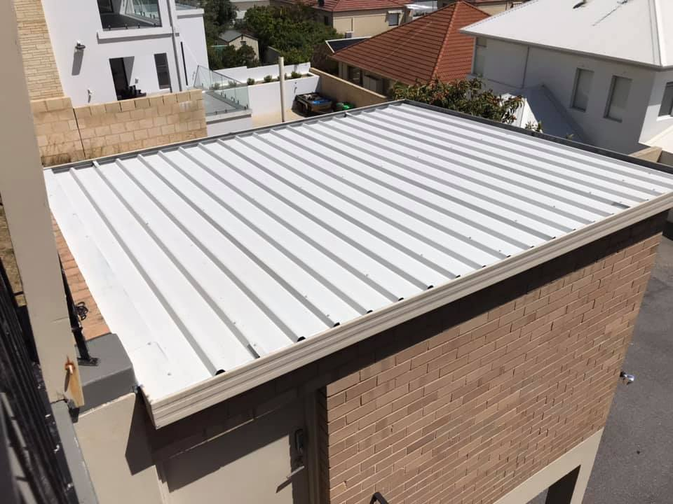 After Colorbond Roof renovation Bicton WA