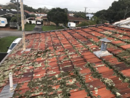 dirty roof Ardross WA
