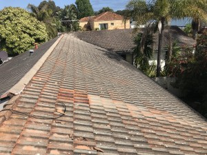 before restoration Tile Roof in Attadale