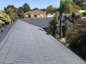 After roof restoration tile roof attadale