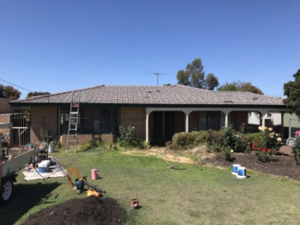 tile roof restoration before Booragoon WA