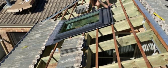 hail damaged roof repair in Perth