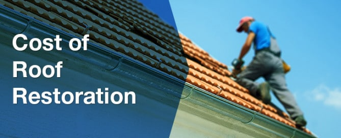 Cost of a roof restoration in Perth